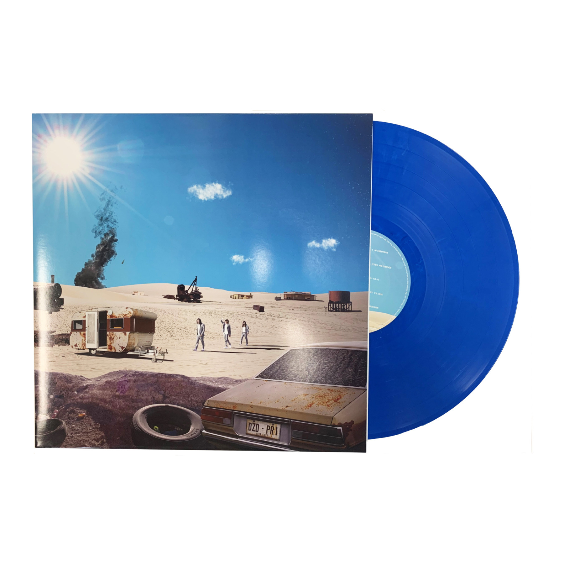 Positive Rising : Part 1 Blue Vinyl