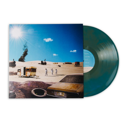 Positive Rising: Part 1 Blue Gold Galaxy Marble Vinyl