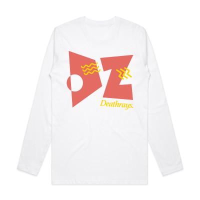 White LS Deco Tee