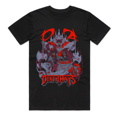 Black Demon Hero Tee